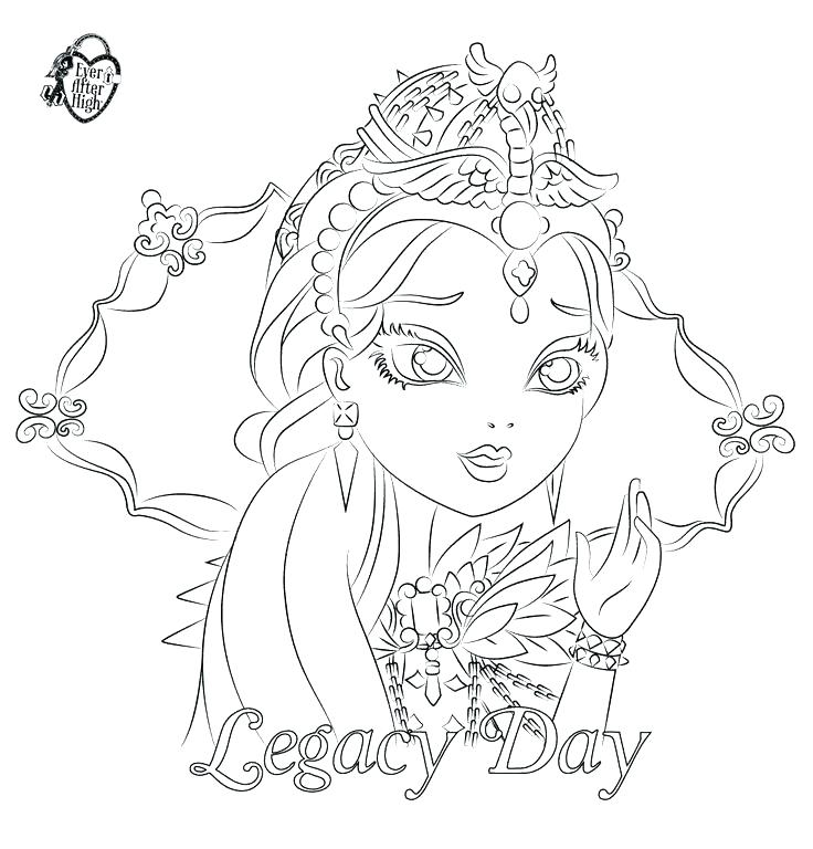 736x768 Ravens Coloring Page Ravens Coloring Pages Ever After High