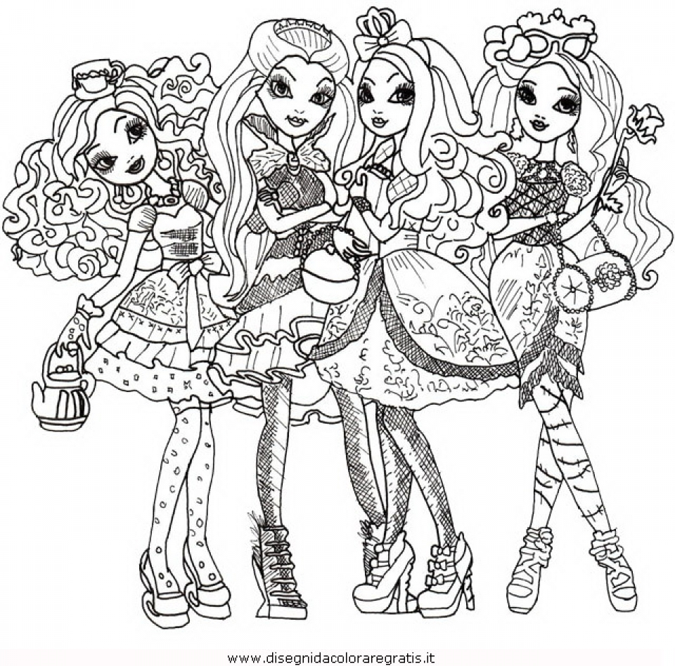 960x948 Cool Free Printable Ever After High Coloring Pages