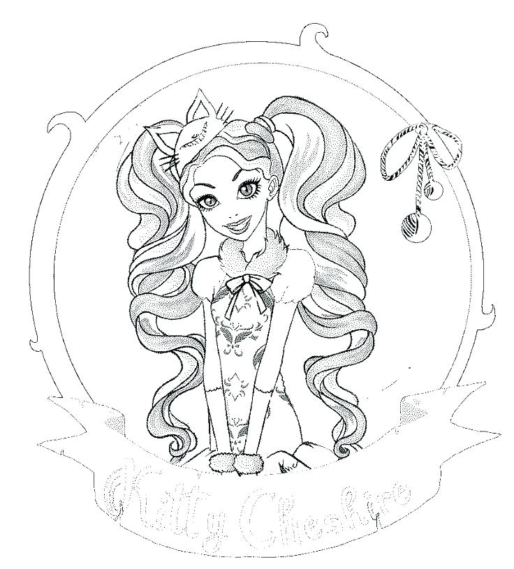 736x815 Ever After High Coloring Page Raven Queen Throne Coming Ever After