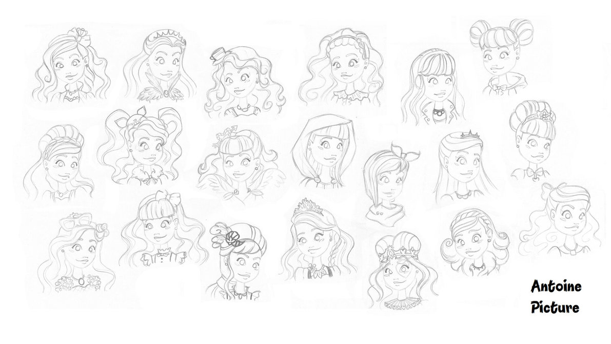 1191x670 Ever After High Girls Characters