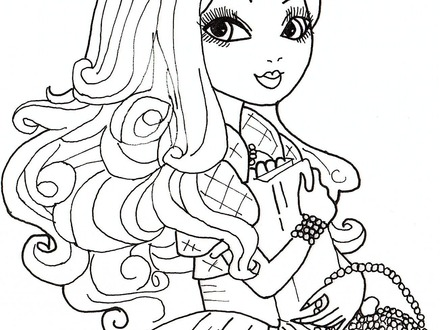 440x330 Ever After Coloring Pages, Ever After High Kitty Cheshire