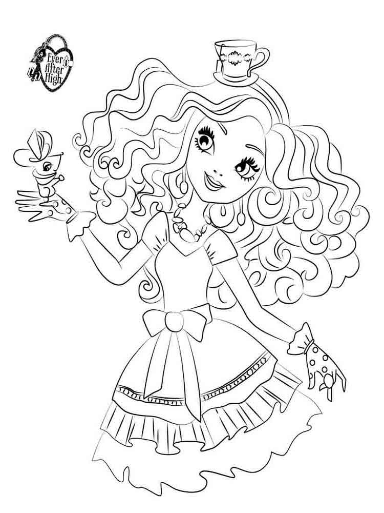 750x1000 Ever After High Coloring Pages Download And Print Ever After High