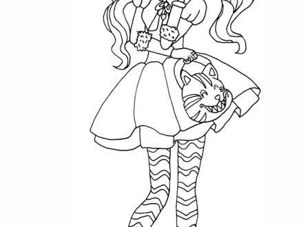440x330 Coloring Pages Ever After High, Free Printable Ever After High