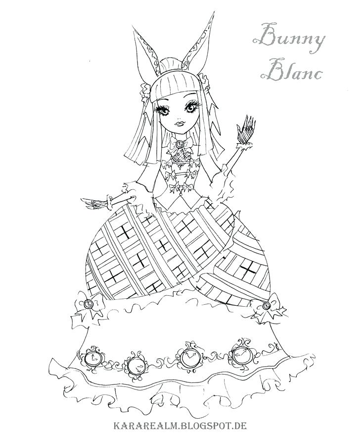 736x884 Mega Pokemon Coloring Pages Of Ever After High Characters