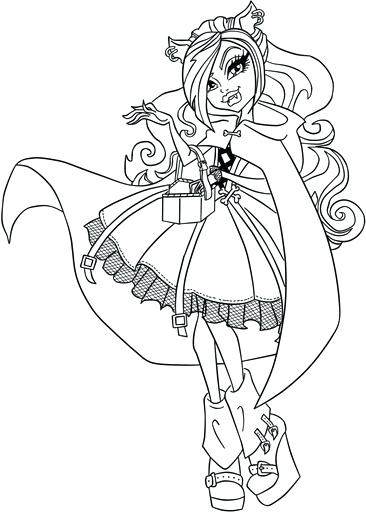366x512 Ever After High Coloring Pages Kitty Cheshire Cheshire Cat