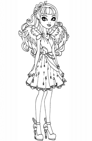 Ever After High Madeline Hatter Coloring Pages at GetDrawings.com ...