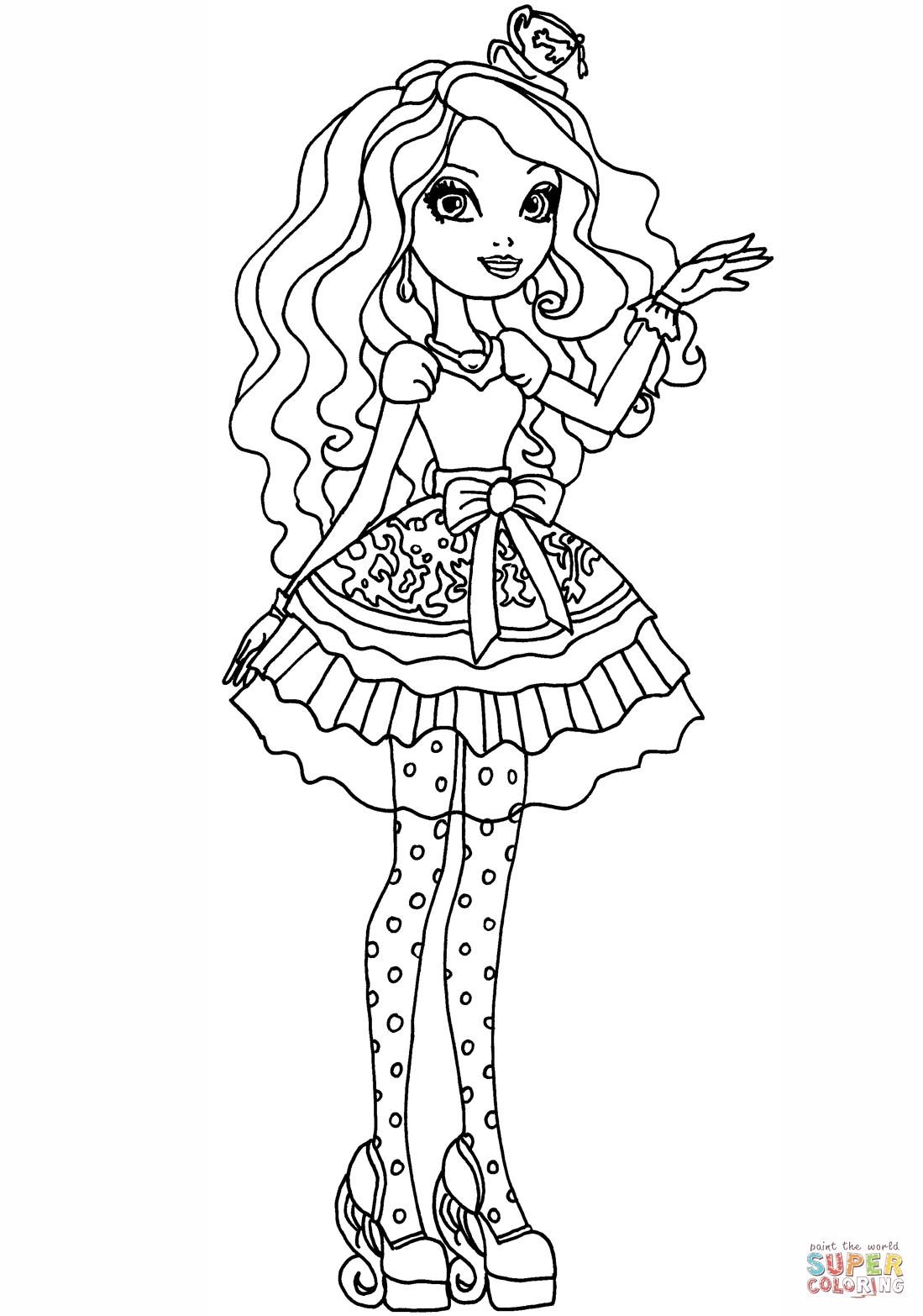Ever After High Printable Coloring Pages At Getdrawings Free