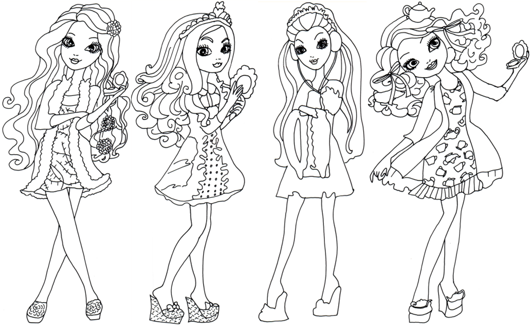 Ever After High Raven Queen Coloring Pages At Getdrawings Free Download