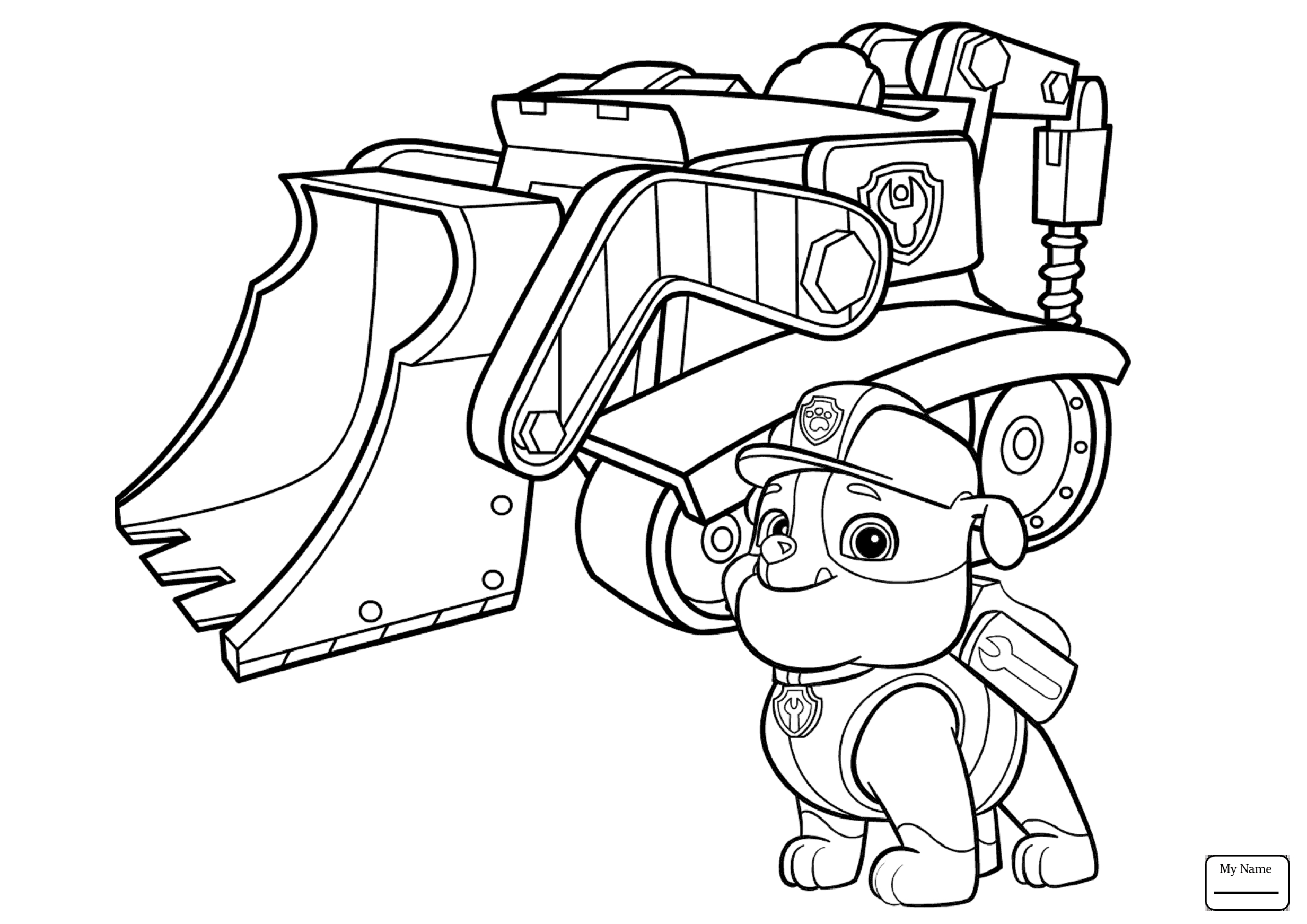 Everest Paw Patrol Coloring Pages at GetDrawings | Free ...