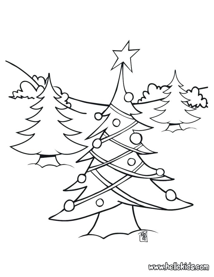 687x888 Coloring Sheets Christmas Tree Coloring Page Best Coloring Pages
