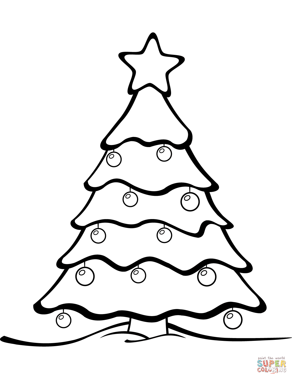 1159x1500 Christmas Tree Coloring Page From Christmas Tree Category Select