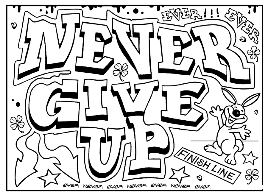 900x655 Inspirational Quotes Coloring Pages For Adults
