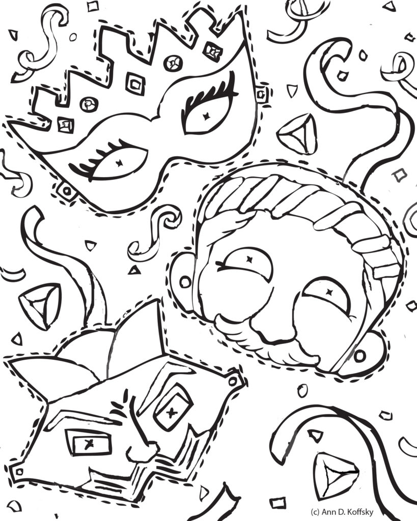 819x1024 Mordechai Everything Purim Coloring Pages Purim Pictures