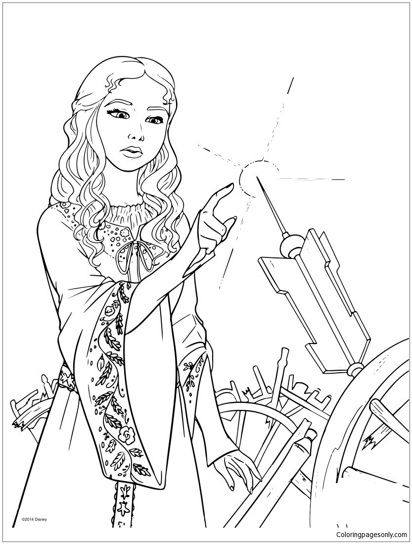 833x1099 Fresh Disney Descendants Mal And Evie Coloring Pages Design