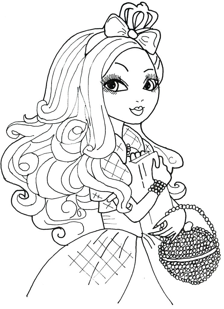 743x1024 Descendants Coloring Pages To Print