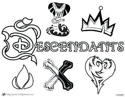 400x309 Descendants Coloring Pages With Kids Coloring Sheets
