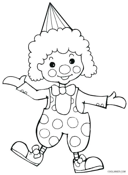 545x741 Clowns Coloring Pages Best Free Clown Coloring Pages Crayola Photo
