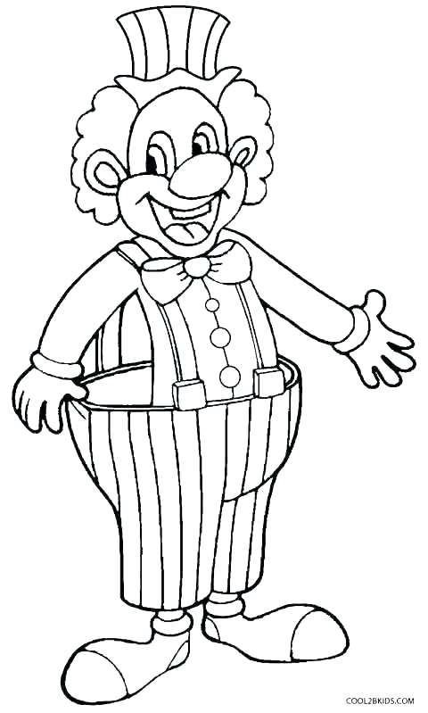 480x799 Evil Clown Coloring Pages Coloring Pages Clown For Kids Printable