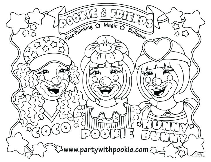 728x559 Pennywise The Clown Coloring Pages