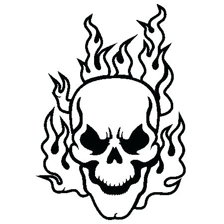 450x450 Skull Coloring Pages For Adults Evil Free Printable Sugar Colo