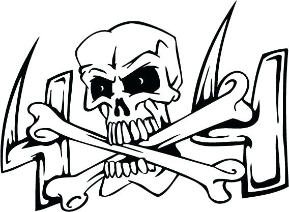 568x417 Coloring Pages Skull Evil Skull Coloring Pages Coloring Pages