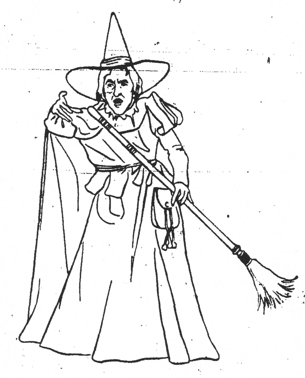 1292x1600 Inspiration Wicked Witch Coloring Pages
