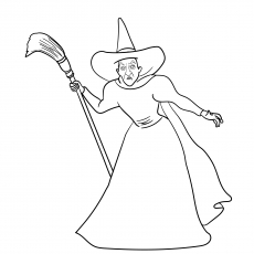 230x230 Top Free Printable The Wizard Of Oz Coloring Pages Online