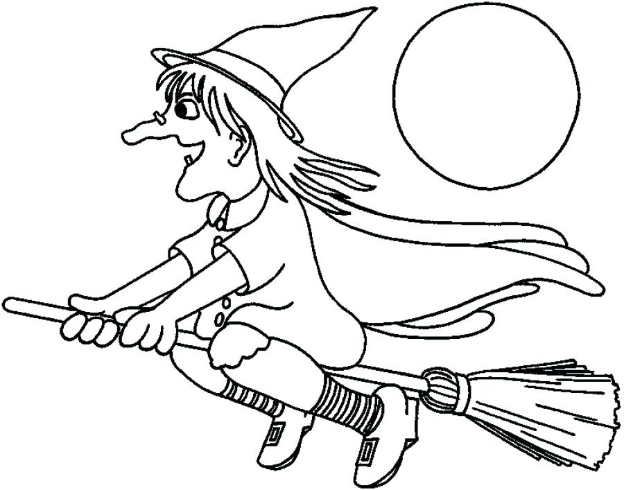 900x707 Witch Coloring Pages Printable Witch Coloring Pages Wicked Witch