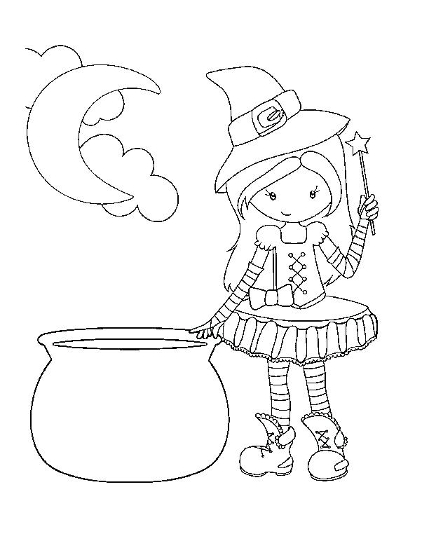 612x792 Scary Coloring Pages