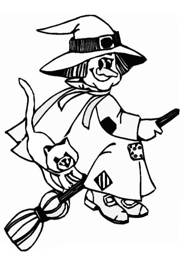 620x875 Free Printable Witch Coloring Pages For Kids