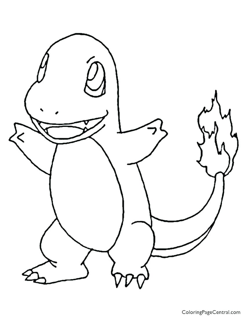 850x1100 Coloring Page Charmander Coloring Pages Page Evolution