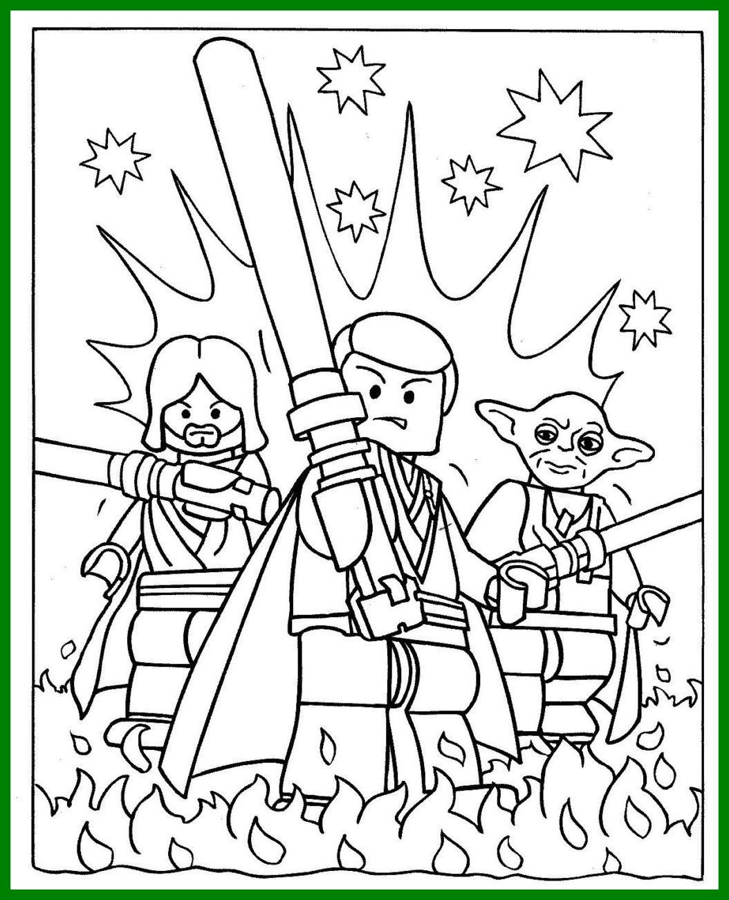 Ewok Coloring Page