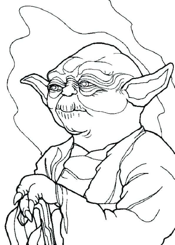 595x831 Ewok Coloring Page Coloring Pages Pictures Character Star Wars