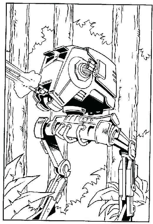 520x759 Ewok Coloring Page Star Wars Village Ewok Village Coloring Pages
