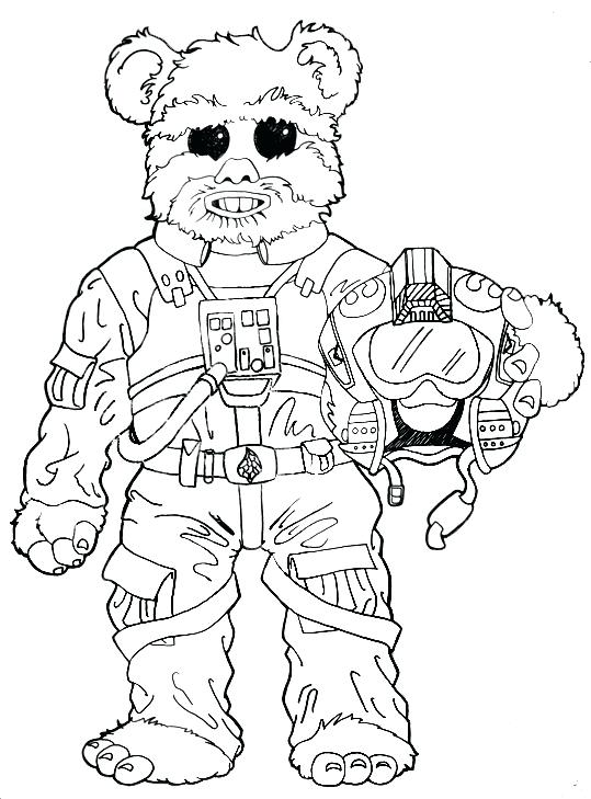 539x729 Ewok Coloring Pages Kids Star Wars Coloring Pages Village Page