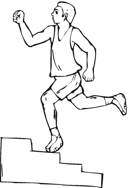 516x760 Free Exercise Coloring Pages