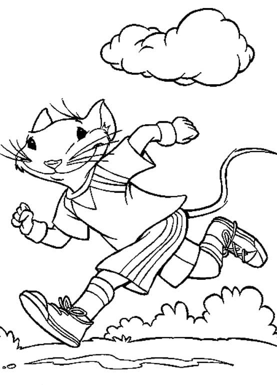 554x769 Stuart Little The Mouse Exercise Coloring Pages