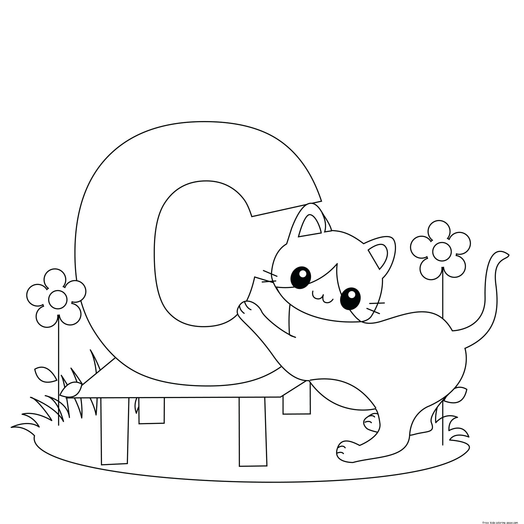 Exercise Coloring Pages For Preschoolers