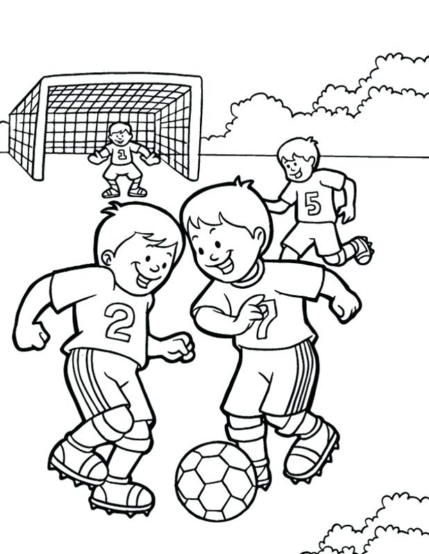 Physical Activity Coloring Pages | 798x618