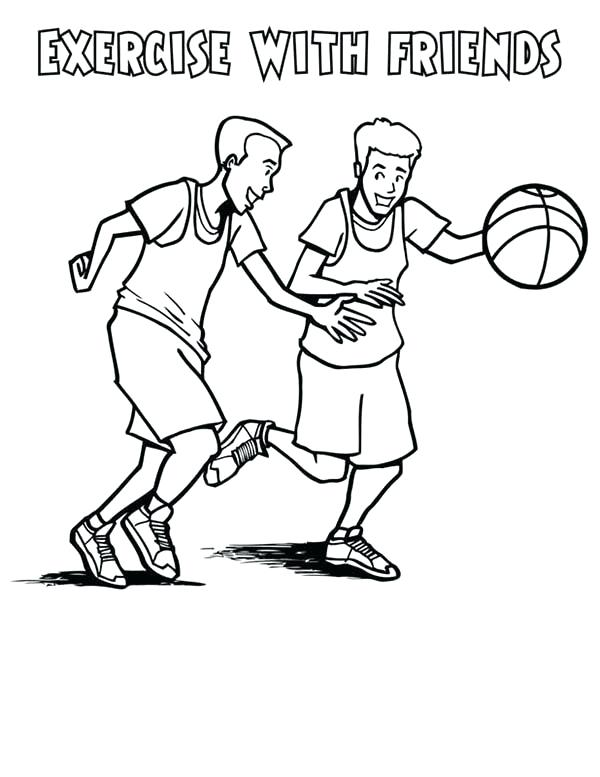 600x777 Health Coloring Pages Homely Ideas Fitness Coloring Pages Exercise