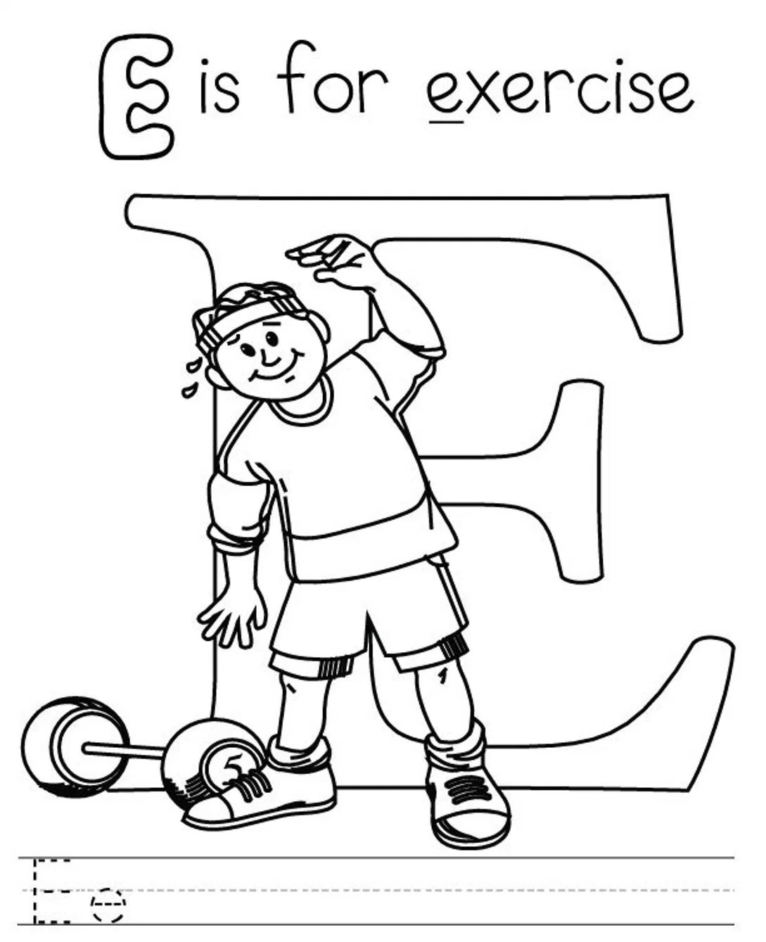 1089x1339 Perfect Fitness Coloring Pages For Kids Printa