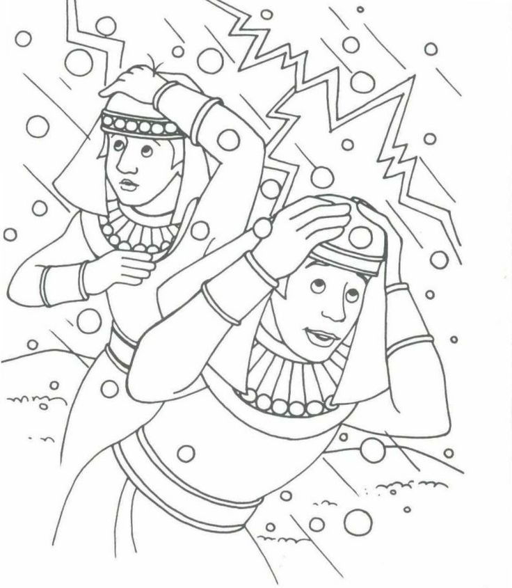 Exodus Coloring Pages