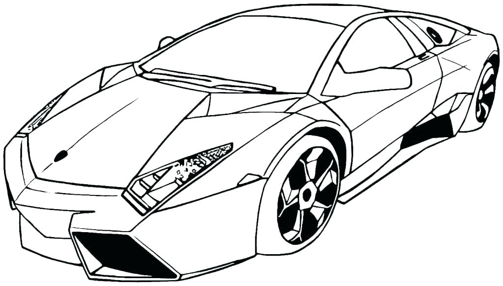 Exotic Car Coloring Pages At GetDrawings Free Download