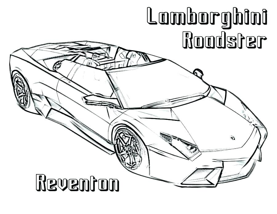 Exotic Car Coloring Pages At Getdrawings Com Free For Personal Use