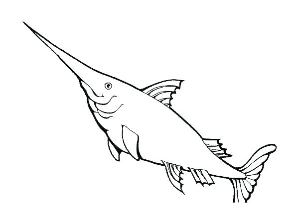 600x450 Realistic Fish Coloring Pages Fish Coloring Pages Ocean Fish