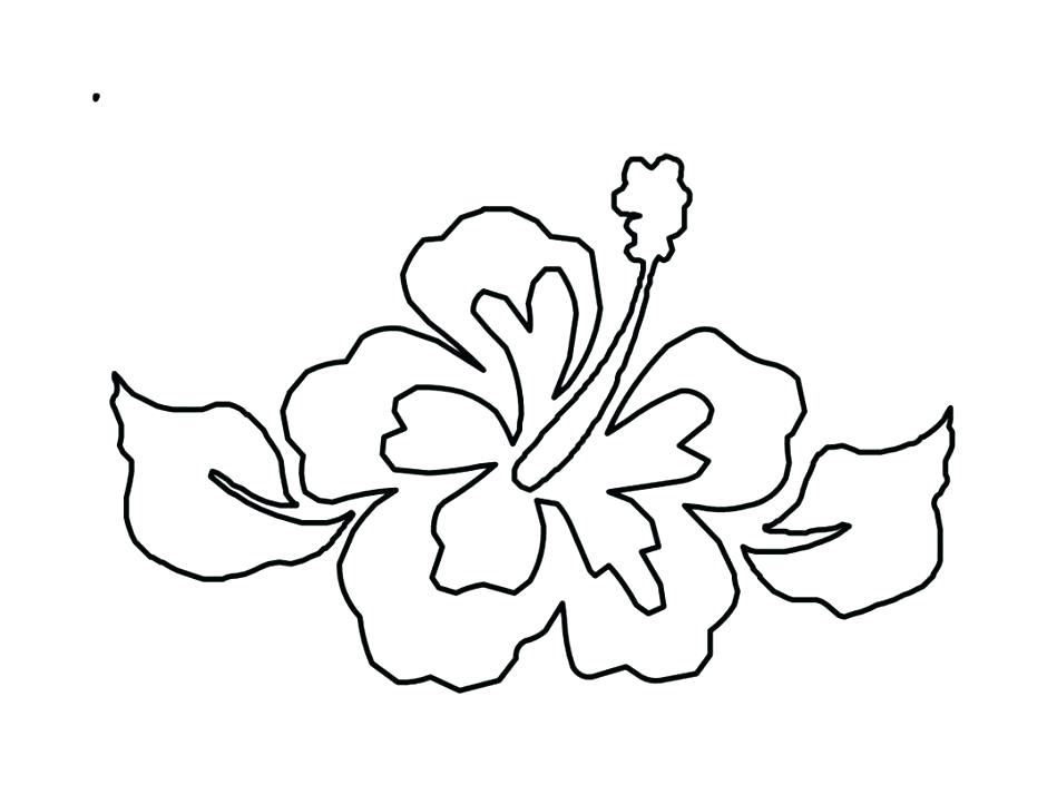 940x705 Hawaiian Flower Coloring Pages Ideal Flower Coloring Pages Print