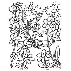 230x230 Top Free Printable Flowers Coloring Pages Online