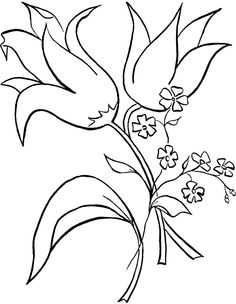 236x304 Tropical Flowers Stained Glass Coloring Book Coloring Pages