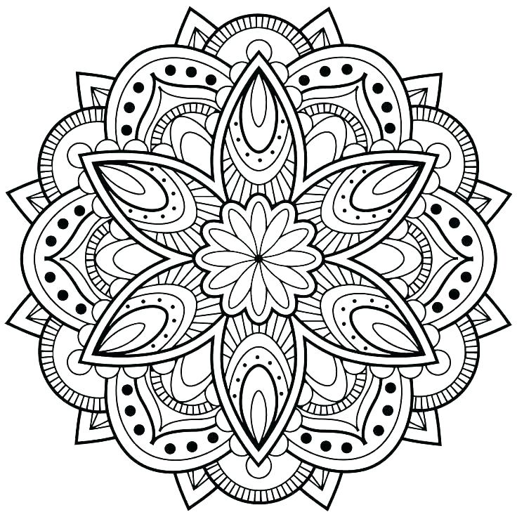 736x736 Coloring Coloring Cool Coloring Pages Printable Cool Mandala