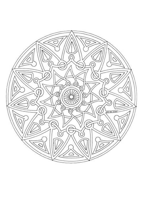601x850 Mandalas For Experts